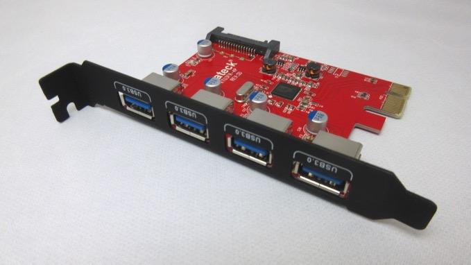 inateck ucb3.0増設ボード KT4001