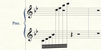 音符と連桁の編集
