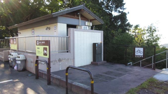 筑波山 自転車 駐輪場