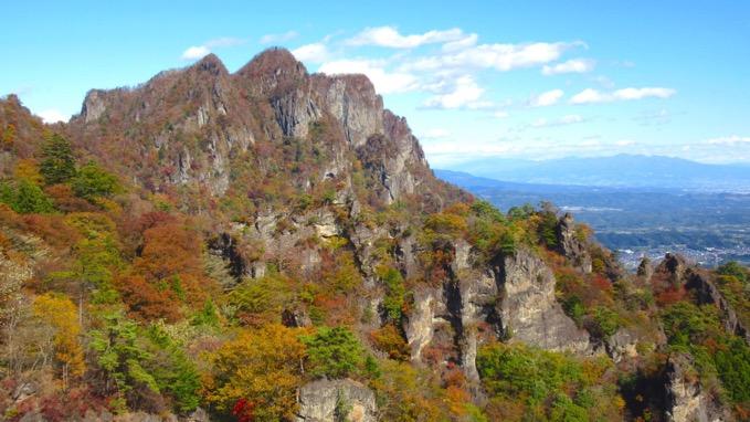 妙義山 中間道 登山