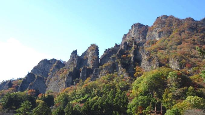 妙義山 登山