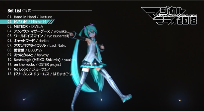 ビバハピ マジカルミライ2018