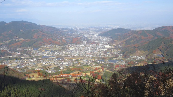 横隈山 登山