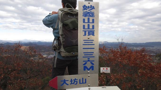 妙義山 山頂