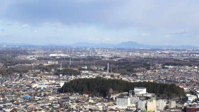 竜ヶ谷山 眺望