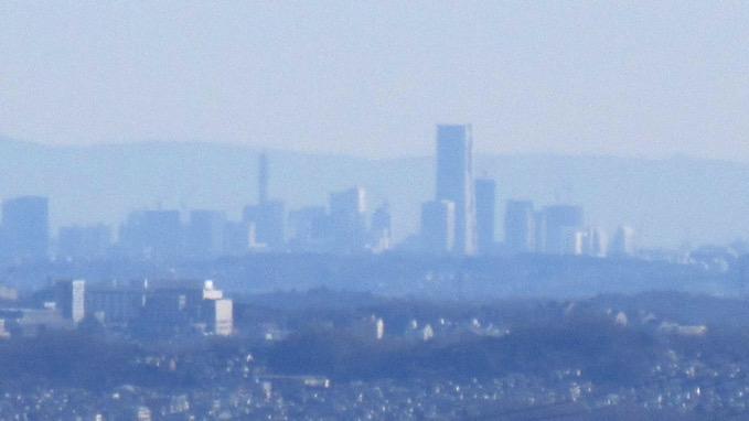 金比羅山 山頂 眺望