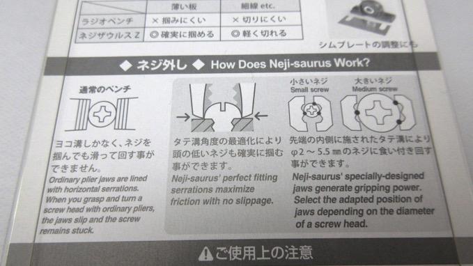 ネジザウルス