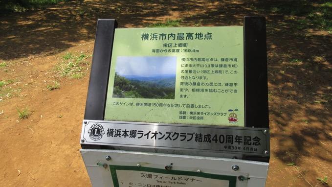 大平山 天園 ハイキング