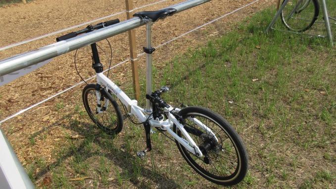 ラベンダー園 千年の苑 自転車