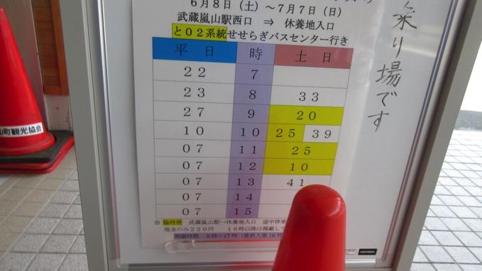 ラベンダー園 千年の苑 バス 時刻表