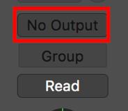 no output