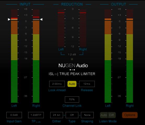 nigen audio isl 2 st