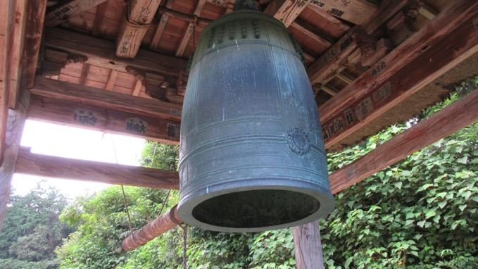 正法寺の銅鐘