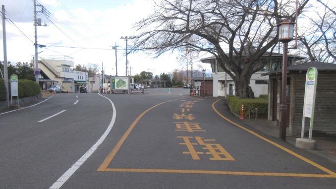 観音山山頂バス停
