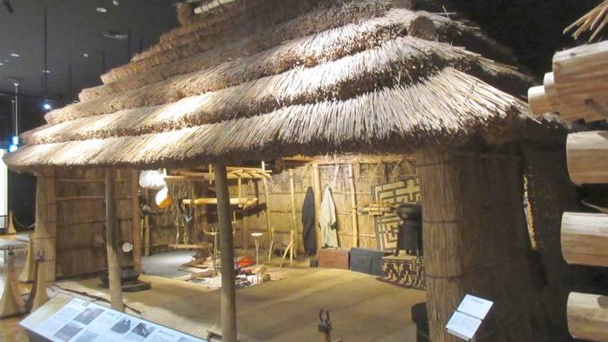 北海道博物館  チセ
