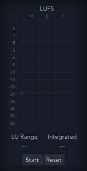 Logic Pro Loudness Meter
