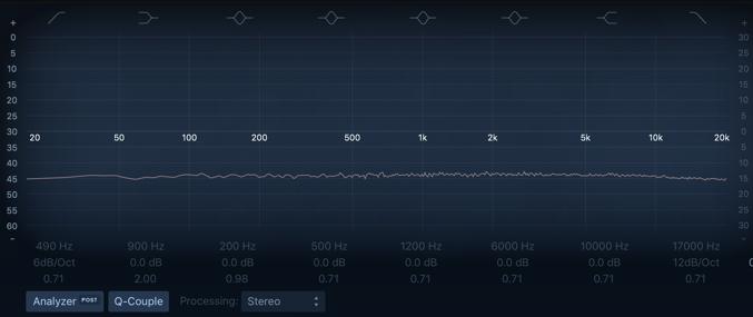 stereo delay 周波数特性